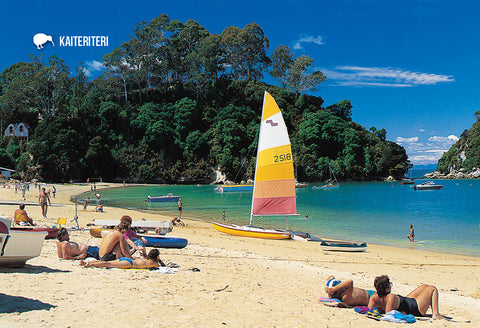 SNE728 - Kaiteriteri Nelson - Small Postcard - Postcards NZ Ltd