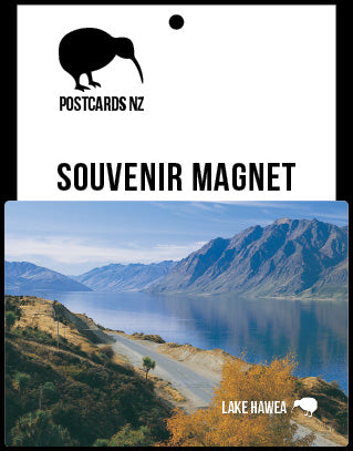 MOT065 - Lake Hawea - Magnet - Postcards NZ Ltd