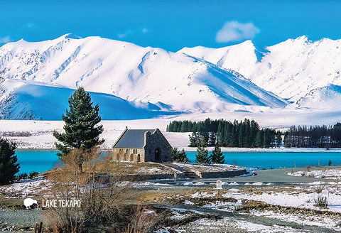 SMC359 - Church Of Good Shepherd, Lake Tekapo - Small Postc - Postcards NZ Ltd