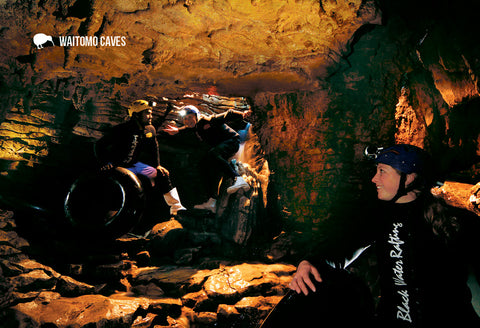 SWC954 - Entrance To Ruakuri Cave - Small Postcard - Postcards NZ Ltd