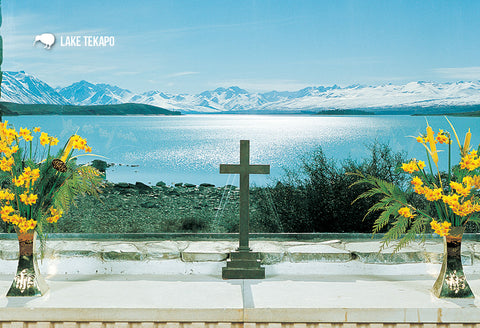 SMC361 - Church Altar, Tekapo - Small Postcard - Postcards NZ Ltd