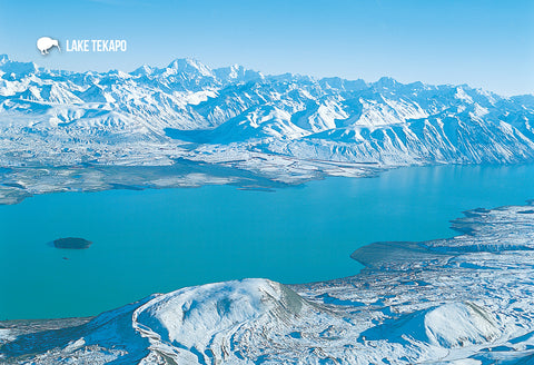 SMC355 - Lake Tekapo - Small Postcard - Postcards NZ Ltd