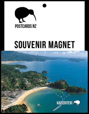 MNS168 - Kaiteriteri - Magnet - Postcards NZ Ltd