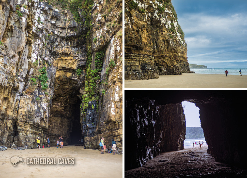 LOT206 - Cathedral Caves - Large Postcard - Postcards NZ Ltd