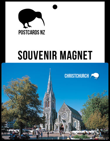 MCA030 - Christchurch Cathedral - Pre-Earthquakes - Postcards NZ Ltd