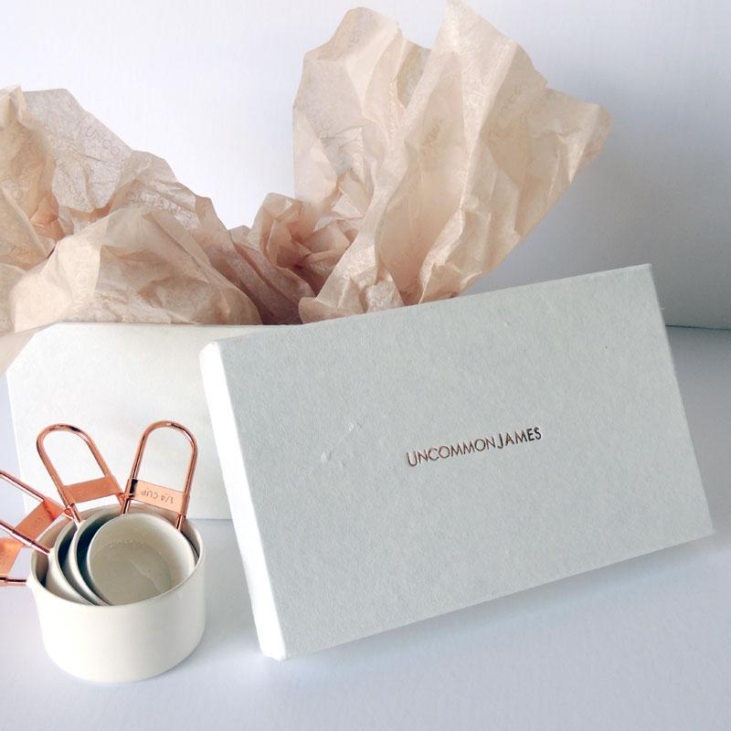 Recycled Fashion Waste Gift Box