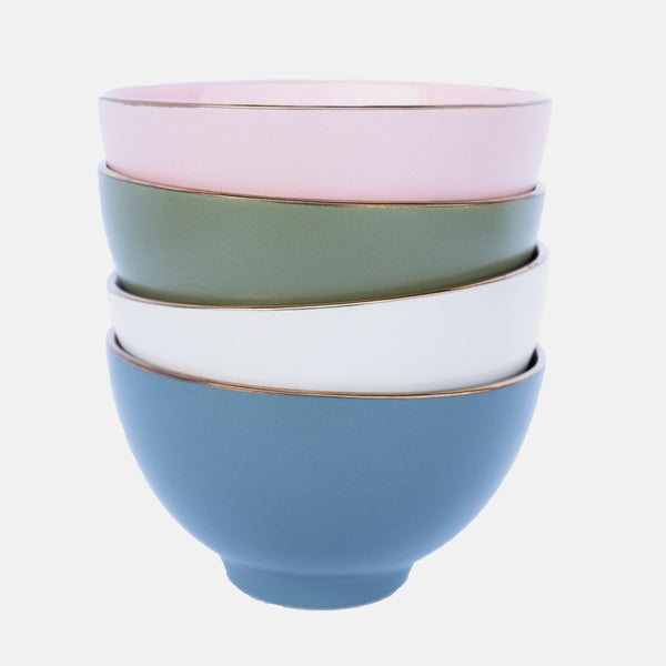 CERAMIC COLORED BOWLS