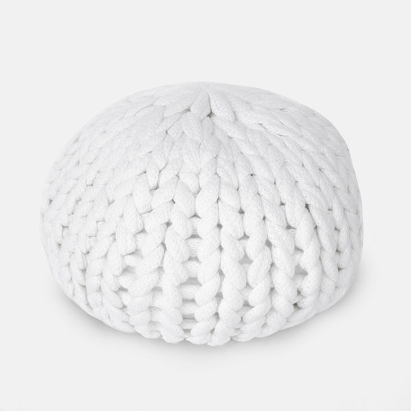 WHITE POOF PILLOW