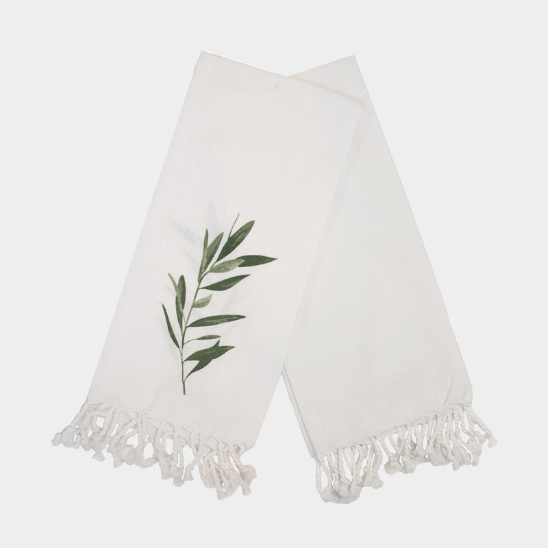OLIVE BRANCH DISH TOWEL