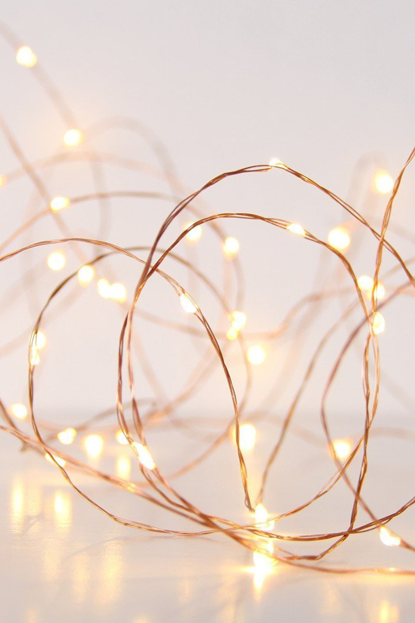 Copper String Fairy Lights