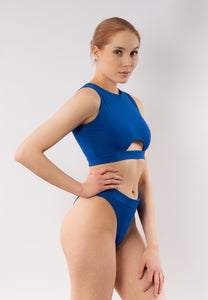 Elsie Bikini Bottom for Women - Blue