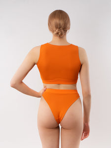 Elsie bikini top - orange