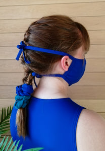 Fabric Face Mask - Blue