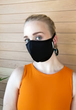 Load image into Gallery viewer, Fabric Face Mask - Black