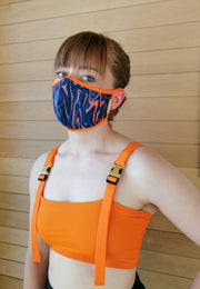 Fabric Face Mask for Women- Print