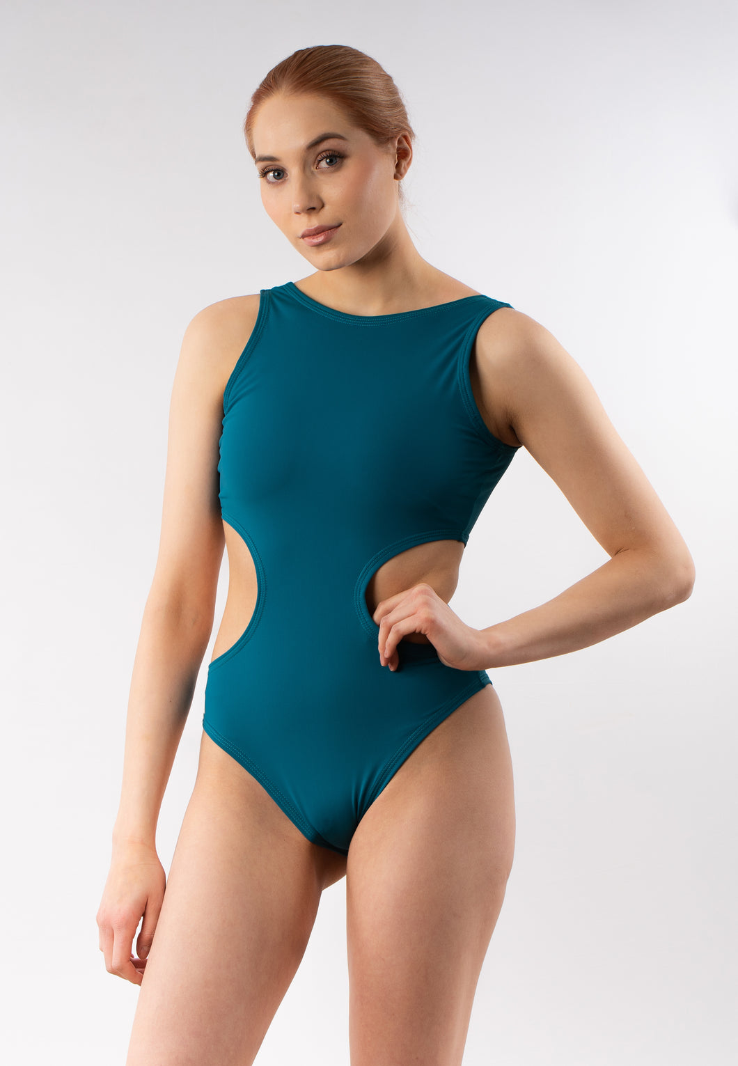 Luna Sporty Swimsuit for Women - Turquoise