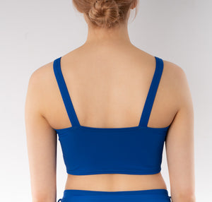 Skye Bandeau Bikini Top for Women - Blue
