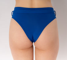 Load image into Gallery viewer, Skye Bikini Bottom with Belt for Women - Blue