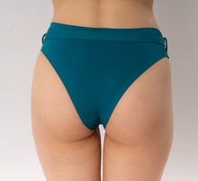 Load image into Gallery viewer, Skye bikini bottom with belt - turquoise