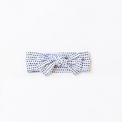 Headband - Polka Dot Bow Headband