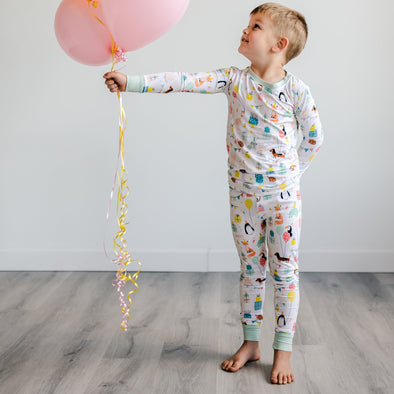 PJs - Birthday Two-Piece Bamboo Viscose Pajama Set