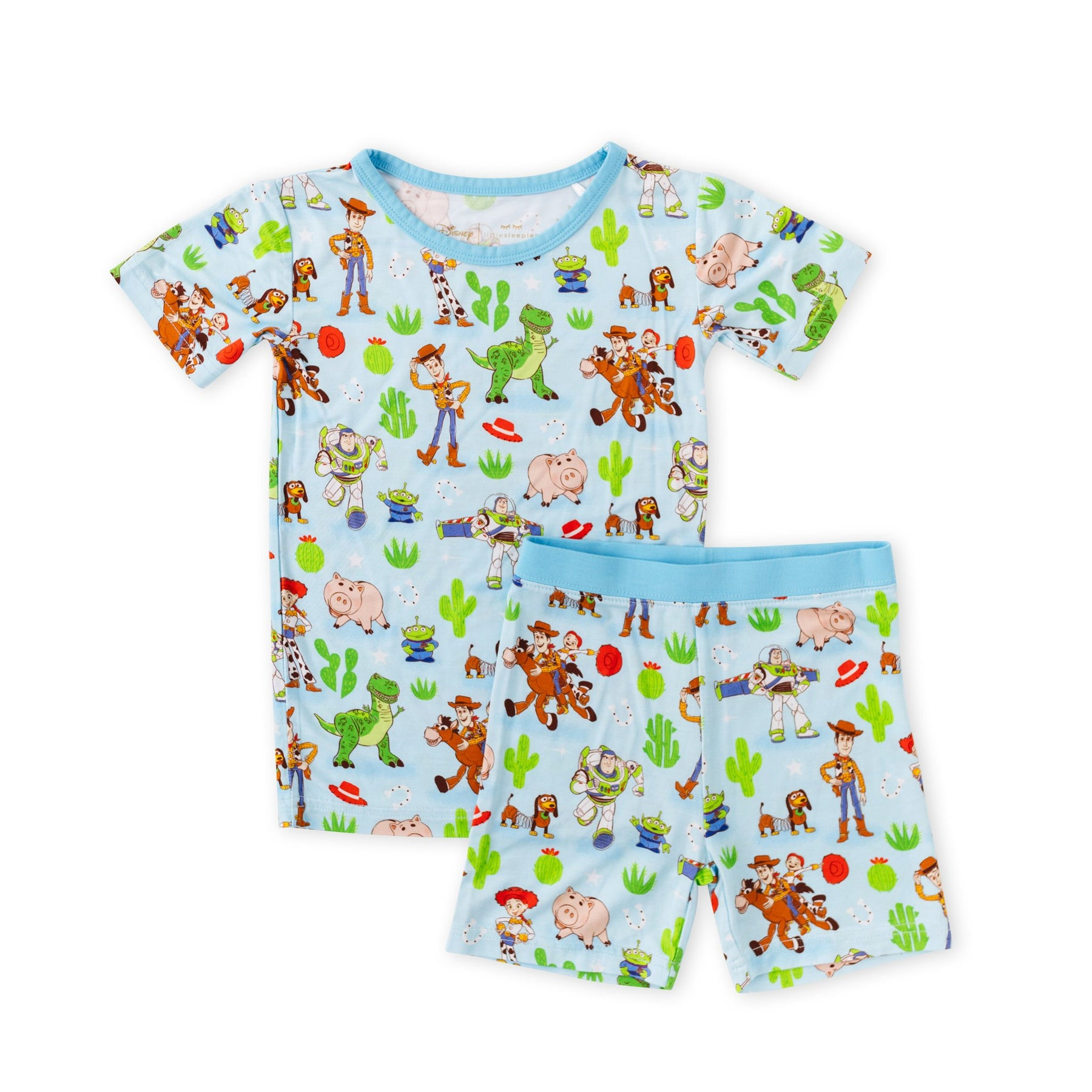 Free Shipping Toy Story X SPAO Details about  / Toy Story Short Sleevs+Short Pants Pajama Set