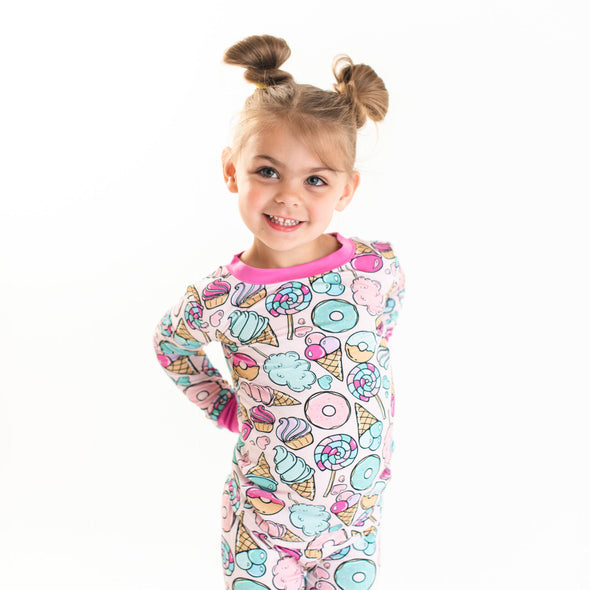 Sweet Treats Two-Piece Bamboo Pajama Set