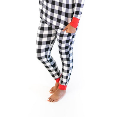 Women's PJs - Buffalo Plaid Women's Bamboo Viscose Pajama Pants