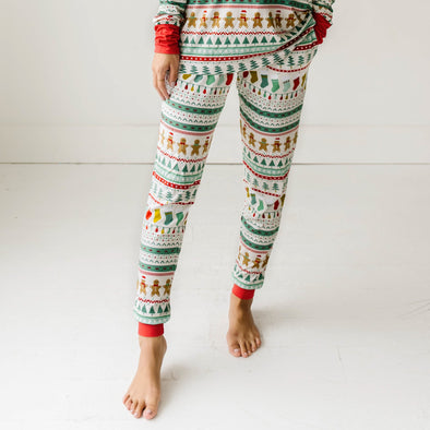 Women's PJs - Fair Isle Women's Bamboo Viscose Pajama Pants
