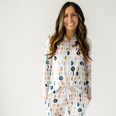Women's PJs - Luna Neutral Women's Bamboo Viscose Pajama Top