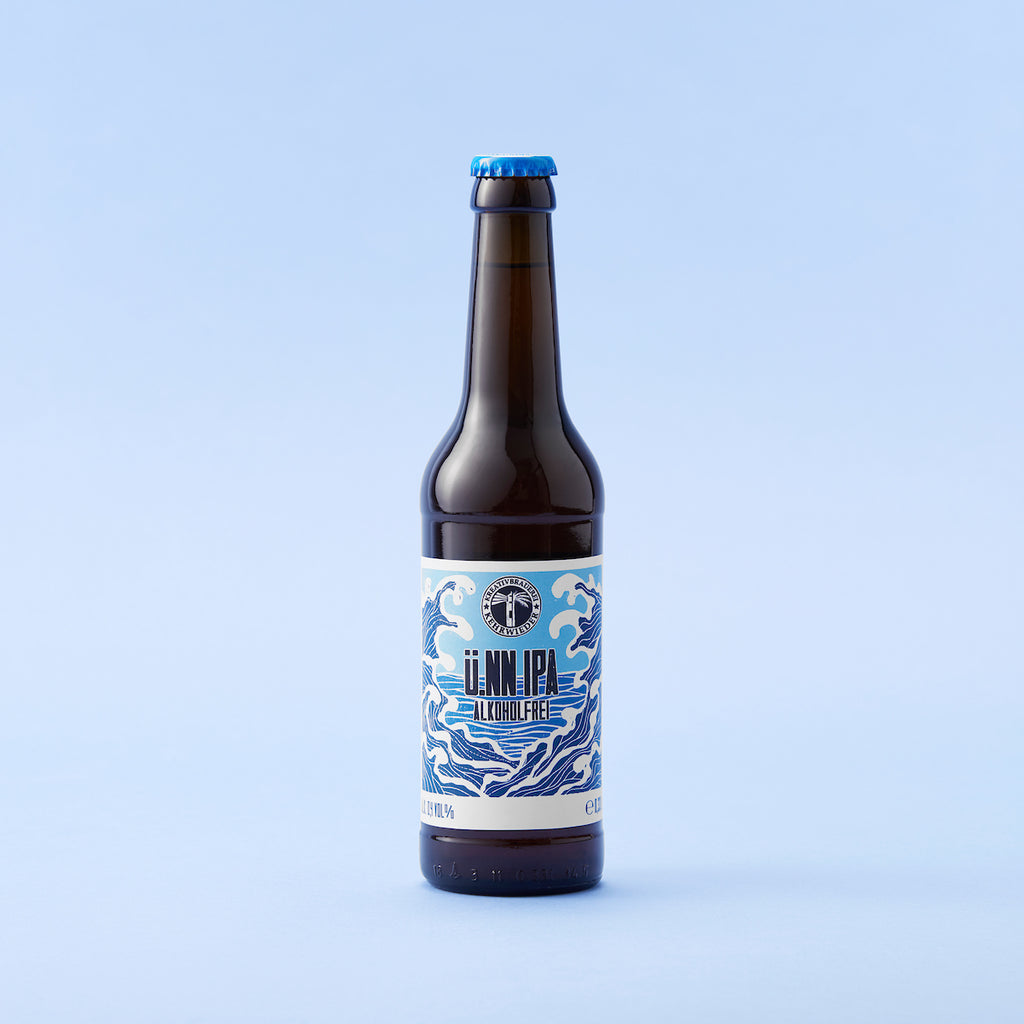 uNN India Pale Ale 0.5% 330ml bottle