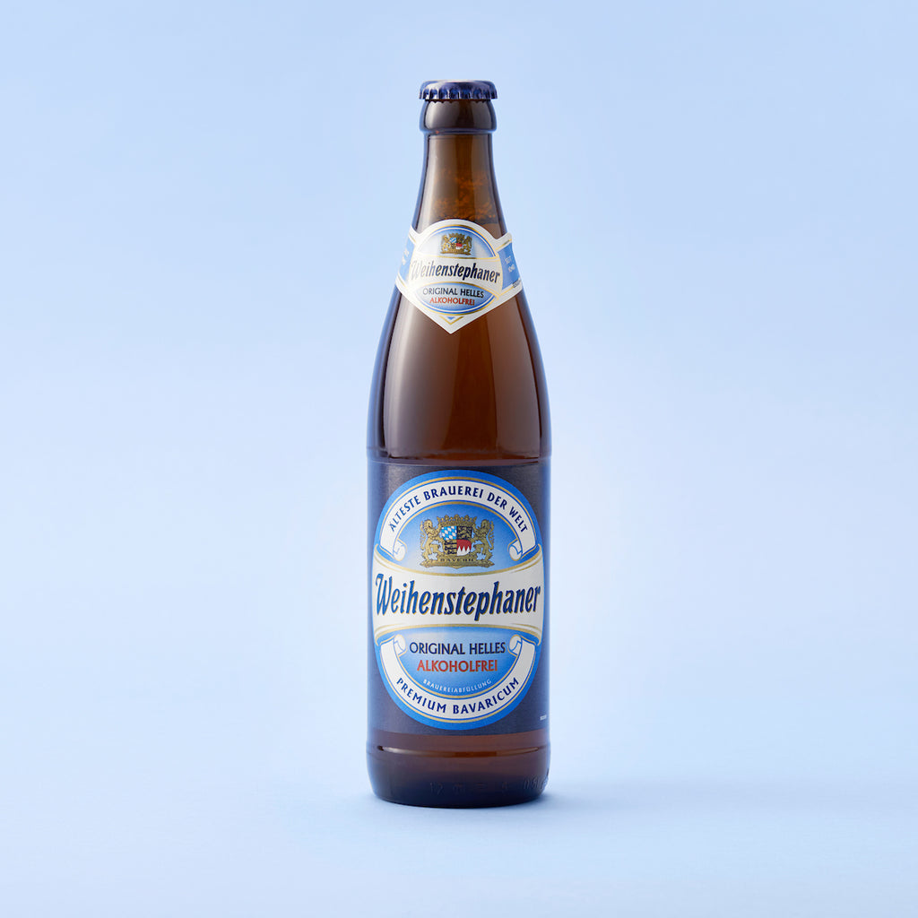 Weihenstephaner Original Lager Low Alcohol Beer 0.5% 500mL
