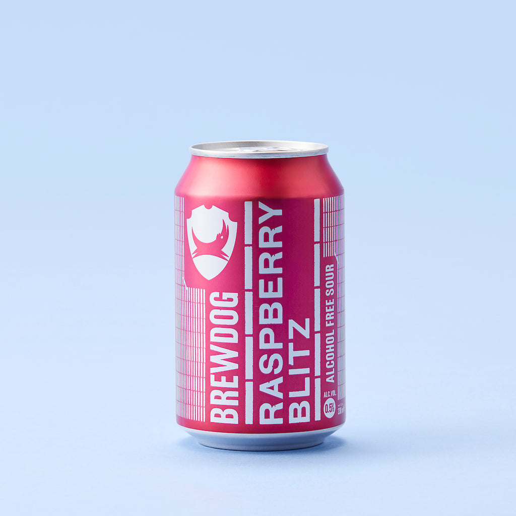 BrewDog Raspberry Blitz 0.5% 330ml can