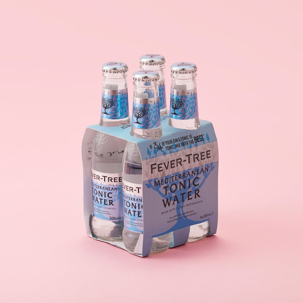Fever-Tree Mediterranean Tonic Water Bottles 200ml