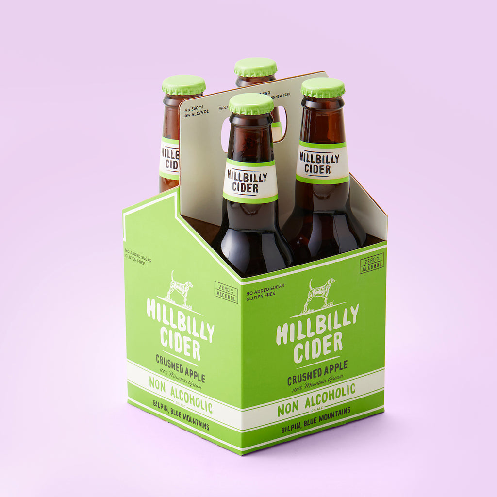 Hillbilly 0.0% Cider 330ml bottle