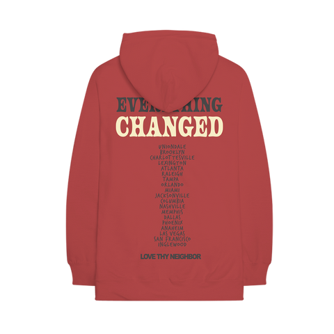 EVERYTHING CHANGED 2019 TOUR HOODIE
