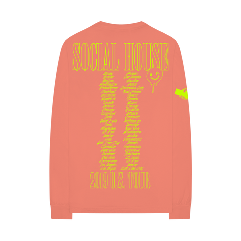 SOCIAL HOUSE 2019 TOUR L/S T-SHIRT