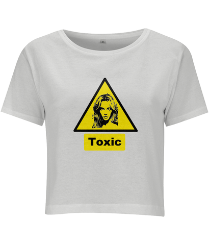 Toxic by Britney Spears Cropped T shirt