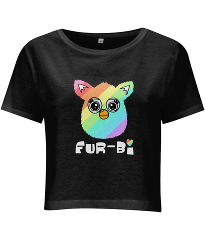 Furby Fur-bi Cropped T shirt