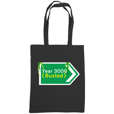 Year 3000 by Busted Tote bag