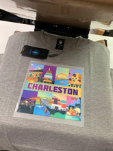 Charleston, WV T-Shirt Illustration on Front