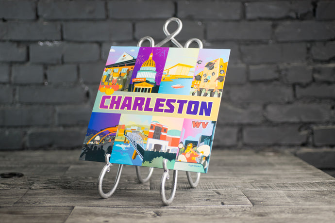 Charleston, WV Illustration