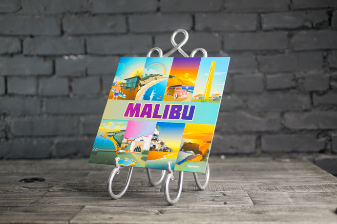 Malibu Illustration