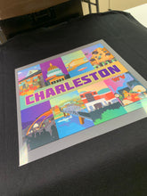 Charleston, WV T-Shirt Illustration Front and Back