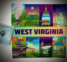 West Virginia Microfiber Cloth