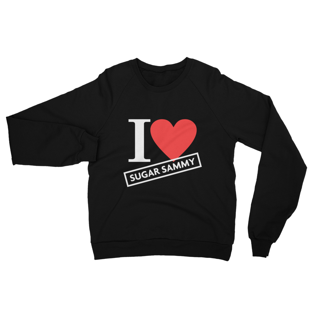 I ❤️ SUGAR SAMMY SWEATSHIRT (American Apparel)