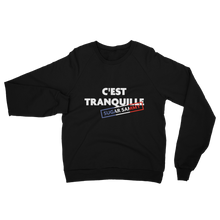 Load image into Gallery viewer, C'EST TRANQUILLE SWEATSHIRT (American Apparel)