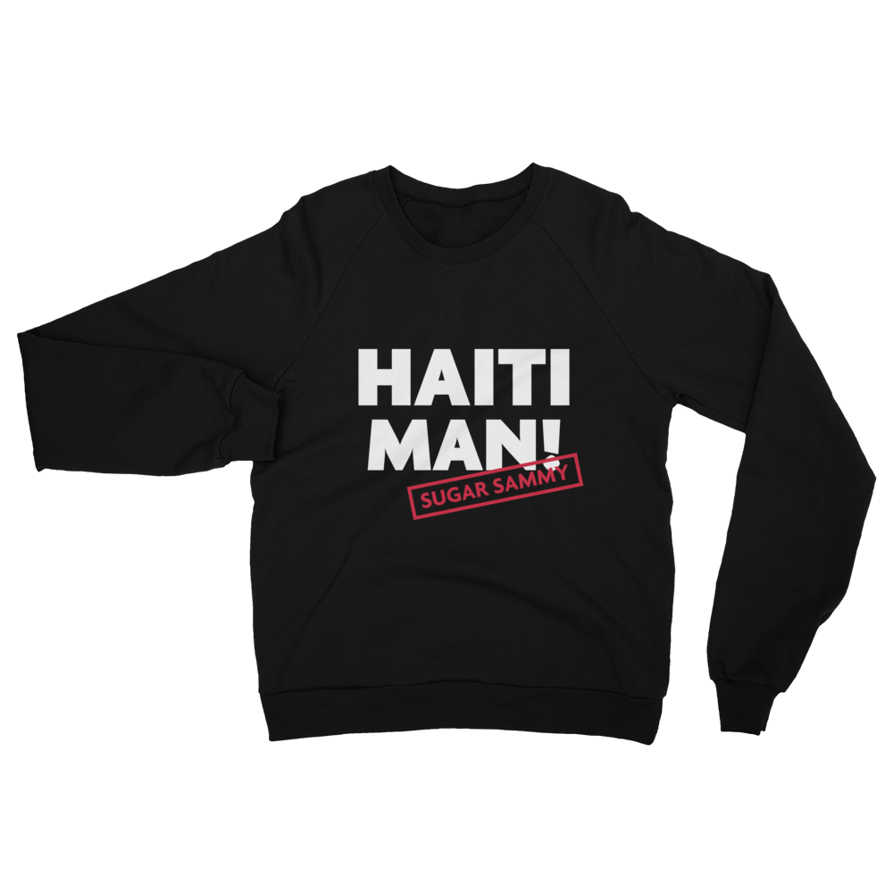 HAITI MAN SWEATSHIRT (American Apparel)