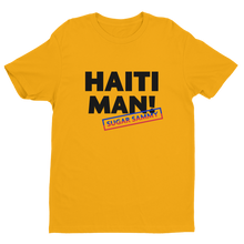 Load image into Gallery viewer, HAITI MAN! - MEN - White/Grey