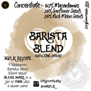 Barista Blend Concentate - 250ml makes 4L+
